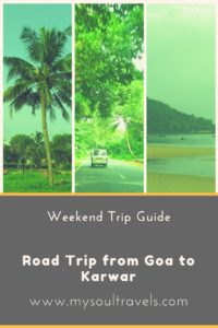 Road Trip from Goa to Karwar