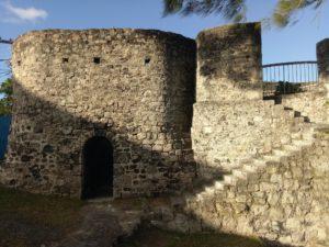 old ruin mauritius